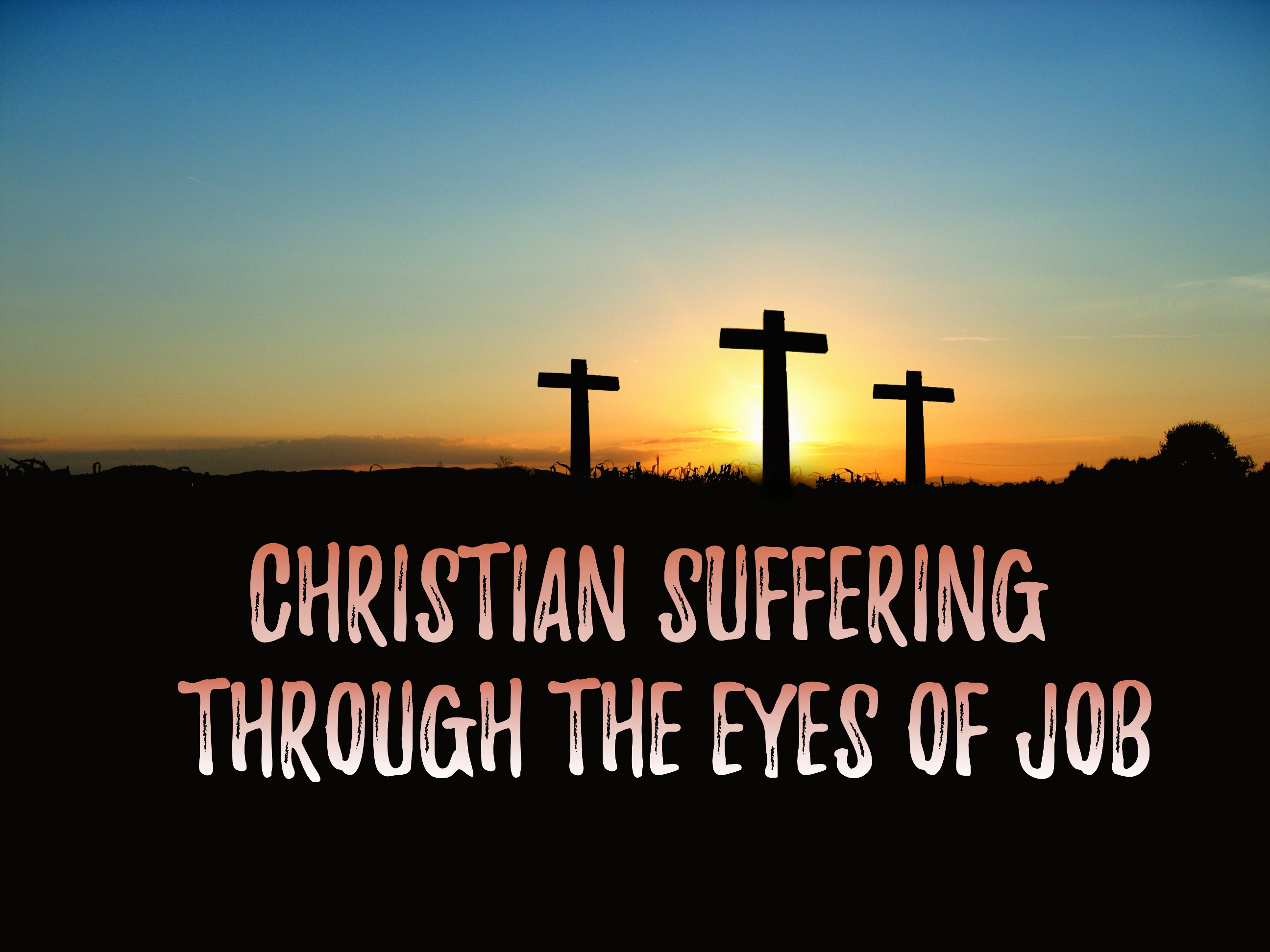 christianity suffering The value of suffering in the life of christian perfection fr john a hardon, sj why should we consider this subject although we will deal with the subject.